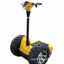 Electric scooter, brushless motor