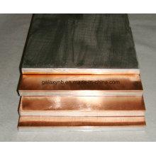 Titânio de alta qualidade revestido de placas de cobre