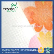 Printing 100% Polyester Spunbond Nonwoven Fabric