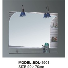 5mm Thickness Silver Glass Bathroom Mirror (BDL-2004)