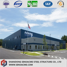 European Certificated Prefabricated Long Life Building/Workshop/Warehouse