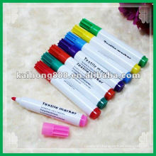 Un-washable Textile Pen with fiber tip