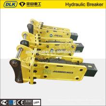 A máquina escavadora hidráulica montada do fabricante ZX55 ZX60 montou o martelo hidráulico do disjuntor de rocha com certificação do CE