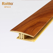 Wood grain PVC Floor Profile Laminated T Profile