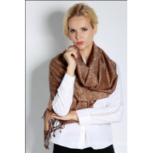 Silk Jacquard Scarf for Women
