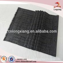 Inverno Warm Long Men Geometric 100% tecido de lenço de viscose