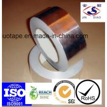 Bande d'isolation en fibre de verre en aluminium