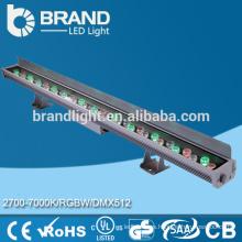 China supplier Iluminación al aire libre Ip65 36w RGB LED pared arandela DMX512