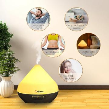 Aroma Diffuser Wood Base 300ml Essential Oil Diffuser