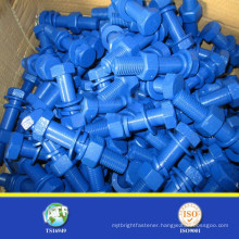 sgs a193 b7 PTFE stud bolt with 2h nut