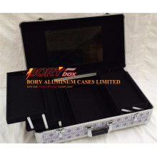 Factory Offer Wholesale ABS Fancy Panel Cheap Cosmetics Case