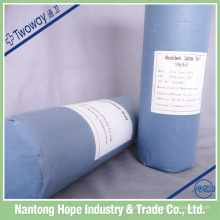 rolo de lã de algodão orgânico 100%