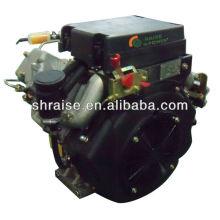 Motor diesel de un cilindro eléctrico nuevo