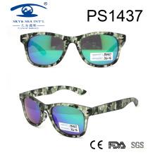 2017 nuevas gafas de sol de la PC de la lente de Revo del color del patrón (PS1437)