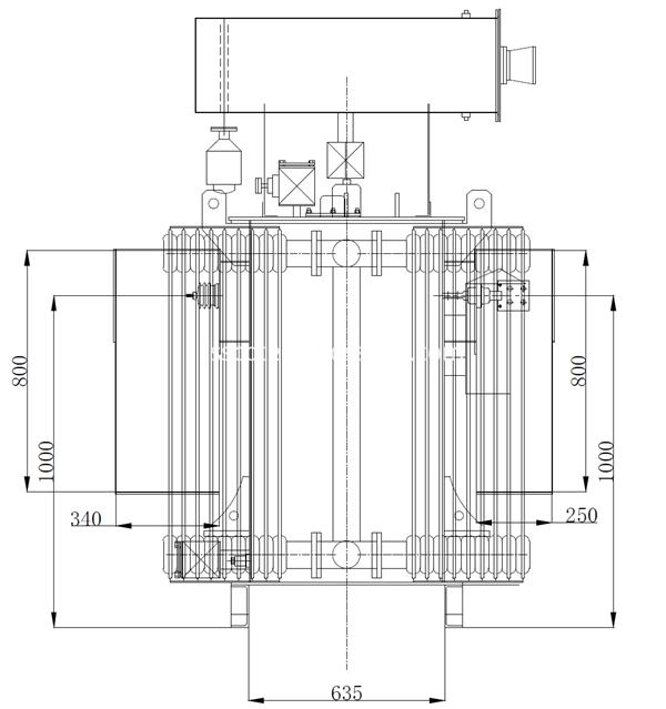 1000kva 11kv distribution transformer