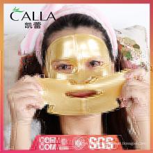 Fabricante proveedor máscara facial dorada antiaging con certificado
