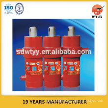 single action telescoping cylinders for tipping truck