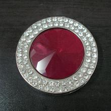 Percha del monedero del sostenedor del bolso de Portalbe de la alta calidad con el cristal (F2015)