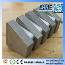 Imán de cobalto de samario Imanes permanentes de hierro de tierra rara
