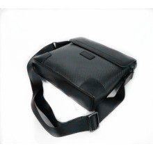 Promotional carbon fiber shoulder bag