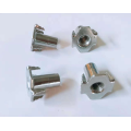 Half thread Pour tooth Stainless steel Nut
