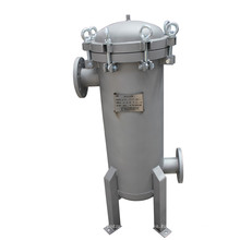 Caja de filtro de agua de bolsa de acero inoxidable para industria alimentaria