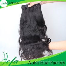 100% tissage de cheveux mongols de cheveux vierges humains