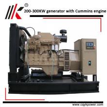 Китай сделал 300kva кончает 3 фазы дизельный генератор генераторы в Ираке с китайским двигателем