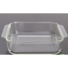 Square Borosilicate Glass Baking Dish/Ovenware