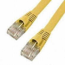 cat5e Copper flat plenum-rated patch cord
