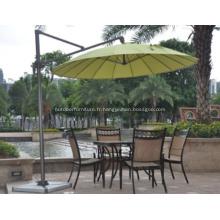 Fibre de verre rond 3 M Cantilever parapluie