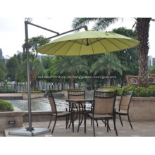 Fibra de vidro redonda 3 M Cantilever guarda-chuva
