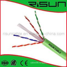 Unshielded CAT6 Network Cable with LSZH/Lsoh PVC Jacket