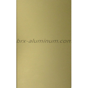 Aluminum alloy sheet with anodization