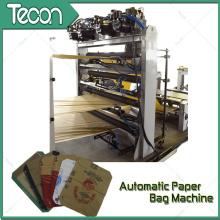 Máquina de embalaje automática de bolsas de papel Kraft para hacer bolsas de papel