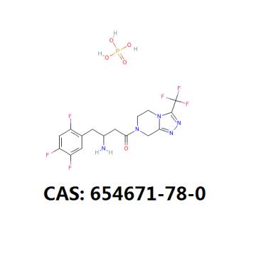 Sitagliptin phosphate monohydrate api cas 654671-77-9