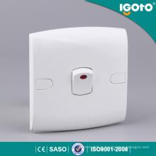 Igoto Saso Certificate Lampe Neon Light 1 Gang Switch