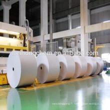 Fabrication de papier CMC de qualité avec faible viscosité