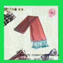 fashion solid silk twill shawl scarf 100%silk hijab