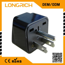 Multifuncional Travel Plug elétrico 13a sok socket, oem socket outlet homologado CE rohs