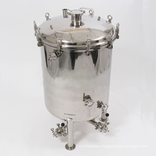 40 Gallon Brite Beer Tank with Butterfly Valves