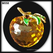 nouveaux cadeaux en cristal crystal apple
