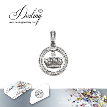 Destiny Jewellery Crystal From Swarovski Necklace My Crown Pendant