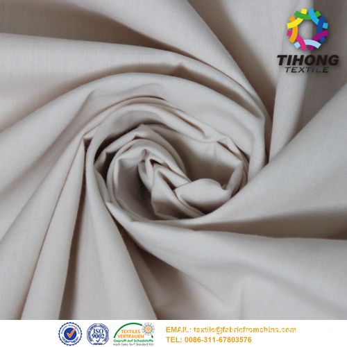polyester cotton poplin fabric