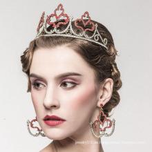 Nachahmung Perle Krone Legierung Braut Tiara Weeding Tiaras Und Krone