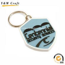 Personalisierte Soft-PVC-Schlüsselanhänger für Werbung Ym1118