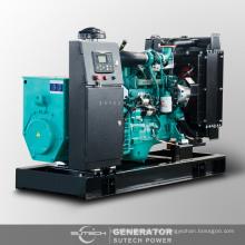 precio del generador diesel silencioso insonoro 75kva accionado por el motor CUMMINS