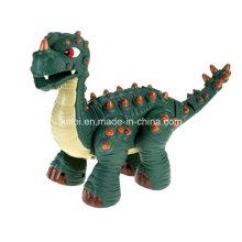 El dinosaurio plástico de la venta al por mayor caliente embroma el juguete interior del patio de los niños modificado para requisitos particulares