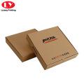 Boîte à pizza en carton ondulé avec logo personnalisé imprimé