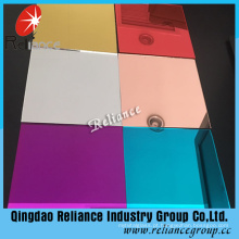 Pink / Gray / Red / Green Colored Mirror for Decoration